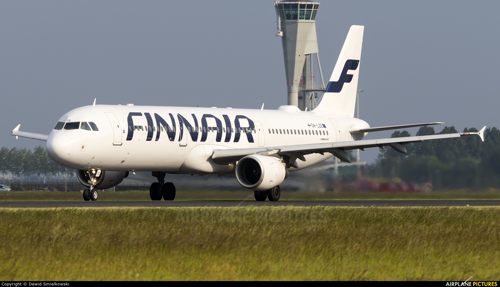 Finnair OH-LZE aircraft at Amsterdam - Schiphol