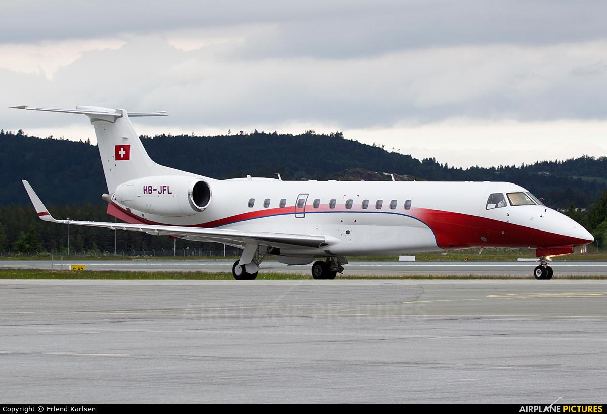 Nomad Aviation HB-JFL aircraft at Trondheim - Vaernes