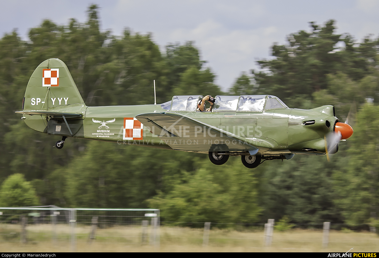Polish Eagles Foundation SP-YYY aircraft at Sobienie Królewskie