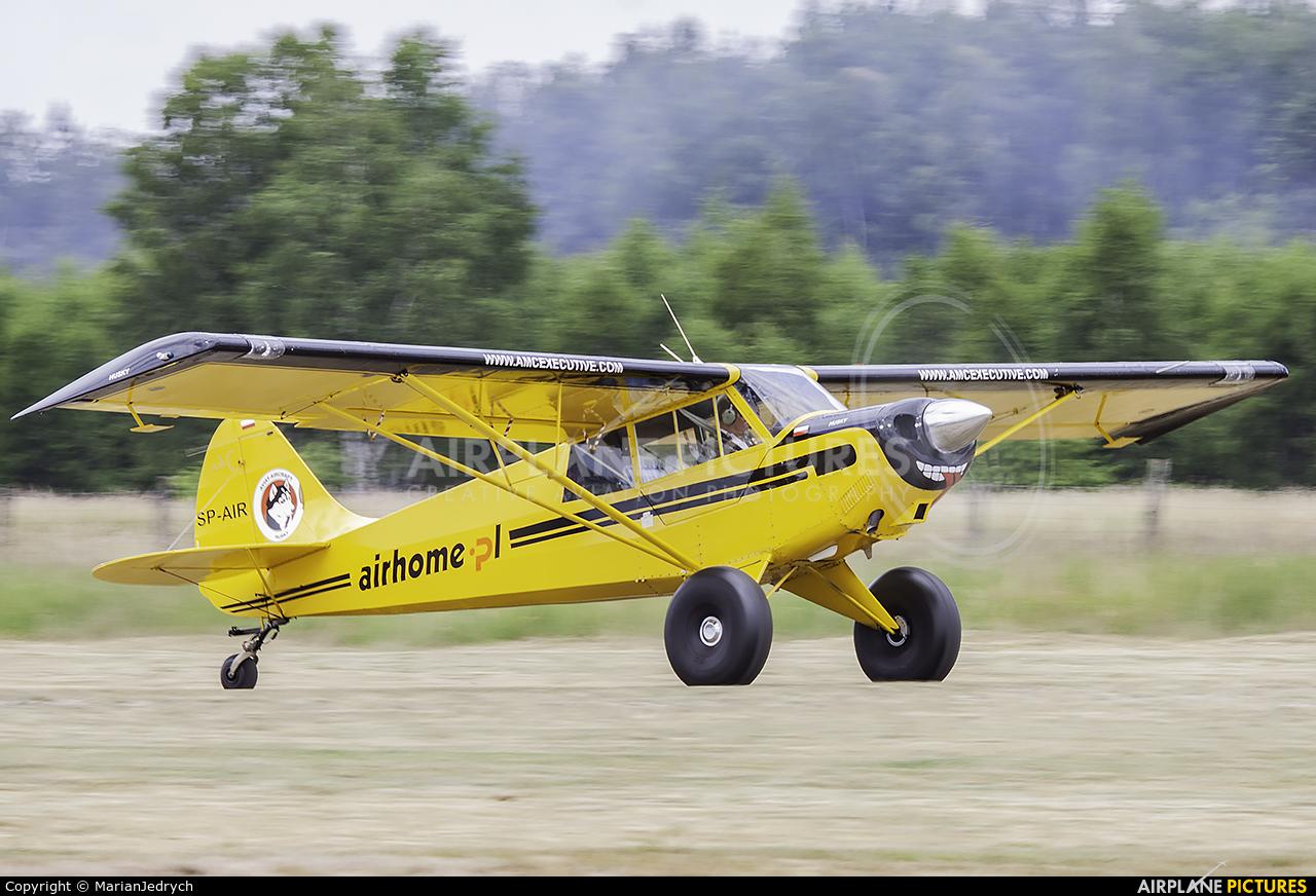 Private SP-AIR aircraft at Sobienie Królewskie