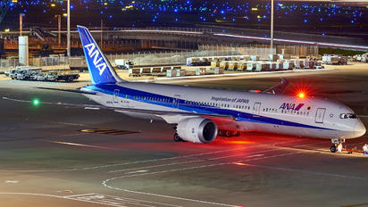 JA887A - ANA - All Nippon Airways Boeing 787-9 Dreamliner