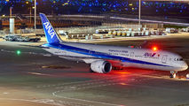 JA887A - ANA - All Nippon Airways Boeing 787-9 Dreamliner aircraft