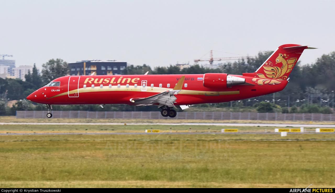 Rusline VQ-BFB aircraft at Warsaw - Frederic Chopin
