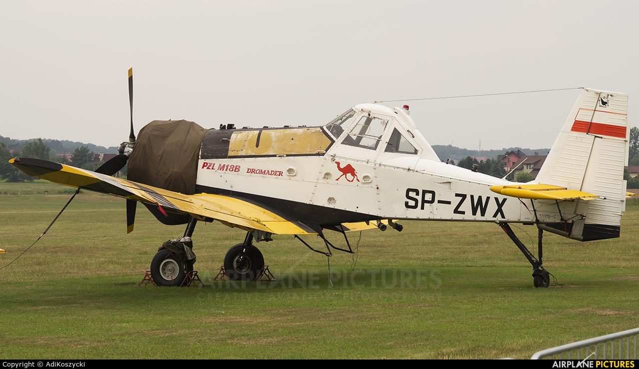 Private SP-ZWX aircraft at Rybnik - Gotartowice