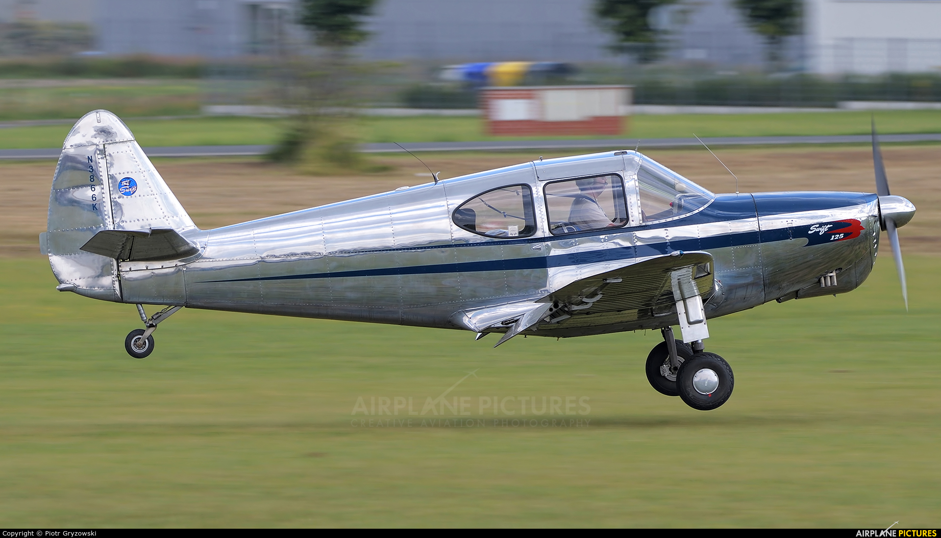 N3866K - Private Globe GC-1B Swift at Mladá Boleslav | Photo ID