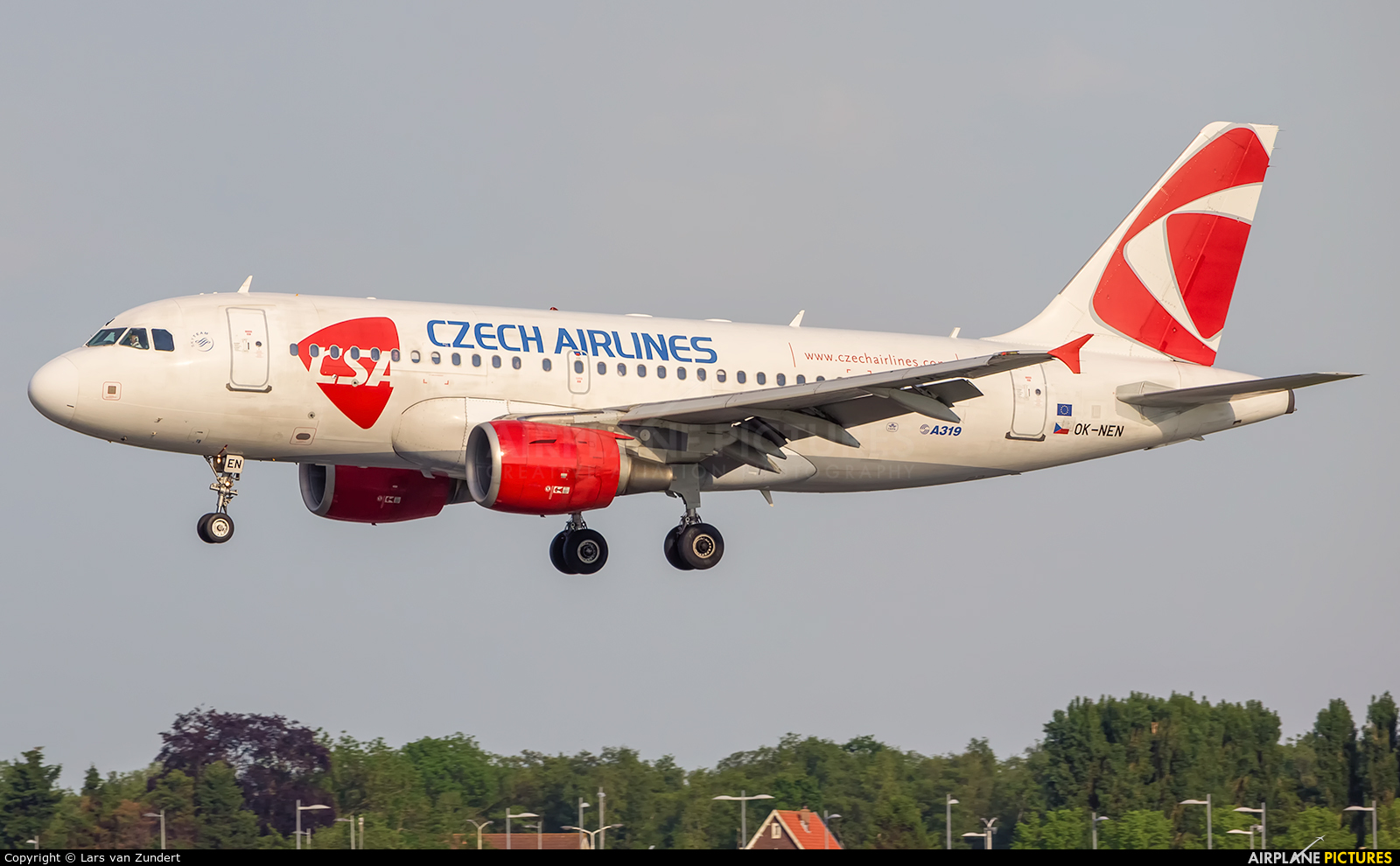 CSA - Czech Airlines OK-NEN aircraft at Amsterdam - Schiphol