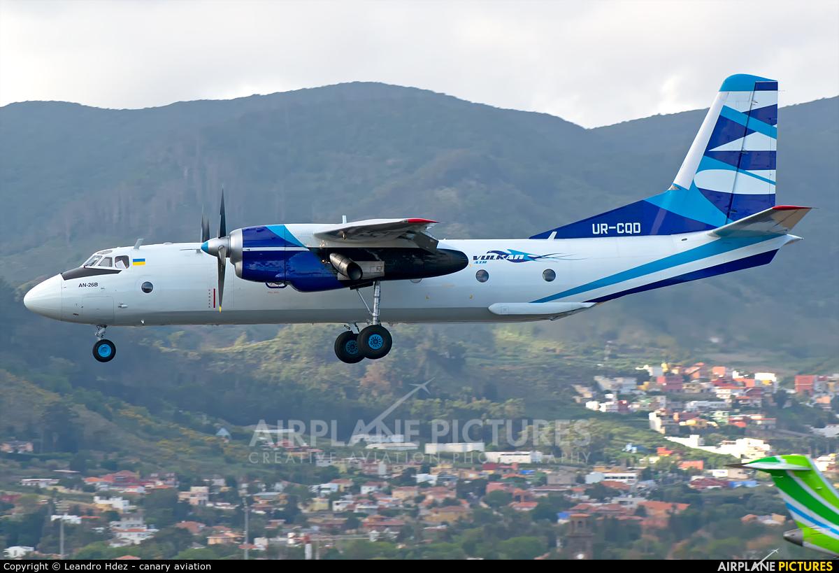 Vulkan Air UR-CQD aircraft at Tenerife Norte - Los Rodeos