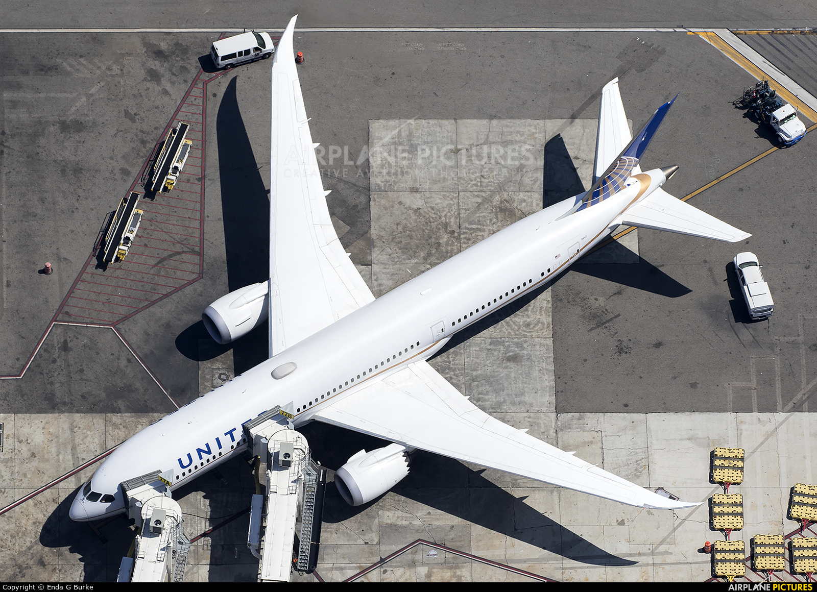 United Airlines N26952 aircraft at Los Angeles Intl