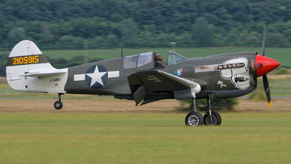 F-AZKU - SNC Societe de Developpement et de Promotion de L'Aviation Curtiss P-40N Warhawk
