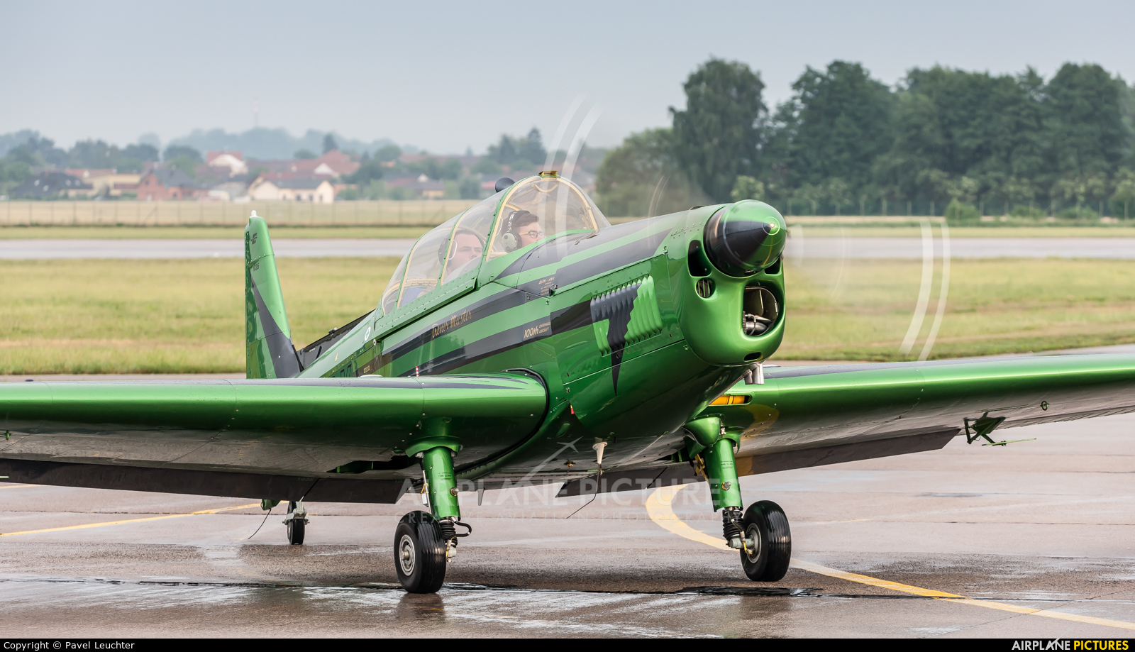 Private OK-XRX aircraft at Pardubice