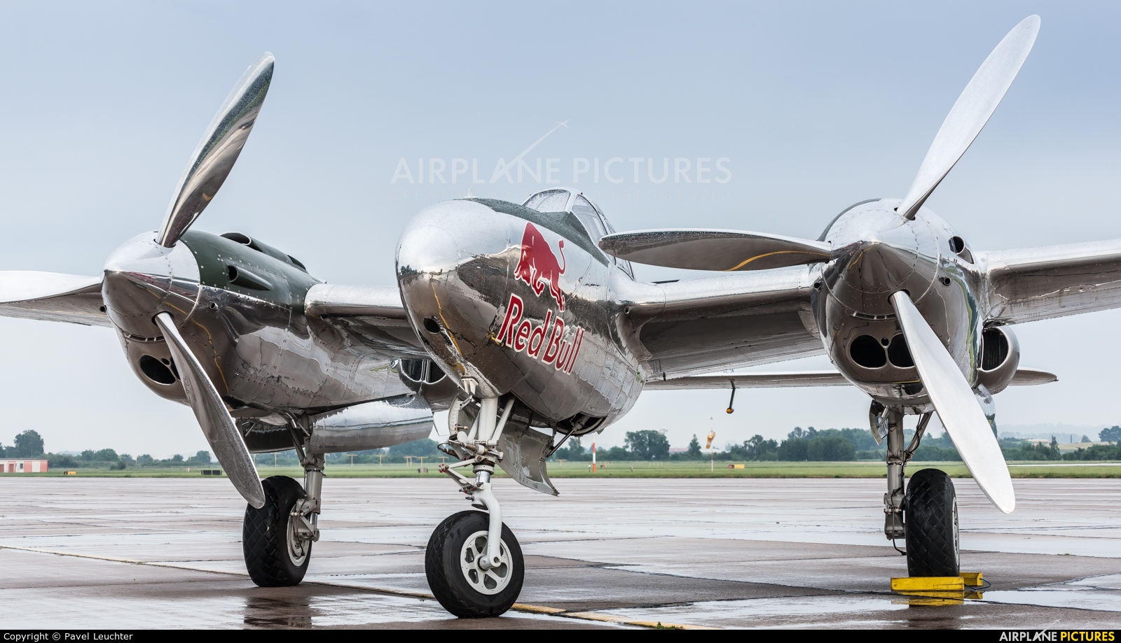 The Flying Bulls N25Y aircraft at Pardubice