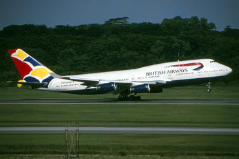 G-BNLH - British Airways Boeing 747-400