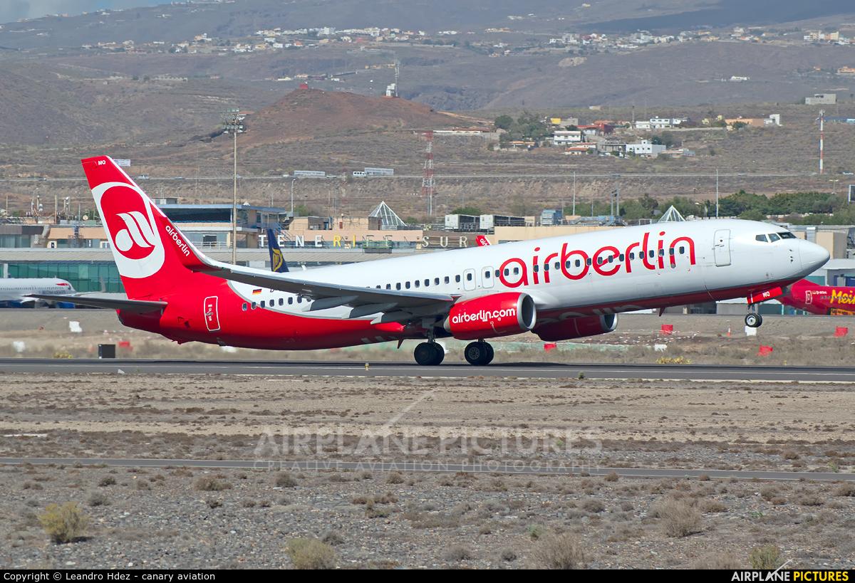Air Berlin D-ABMQ aircraft at Tenerife Sur - Reina Sofia
