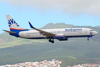D-ASXS - SunExpress Boeing 737-800