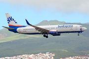 D-ASXS - SunExpress Boeing 737-800 aircraft