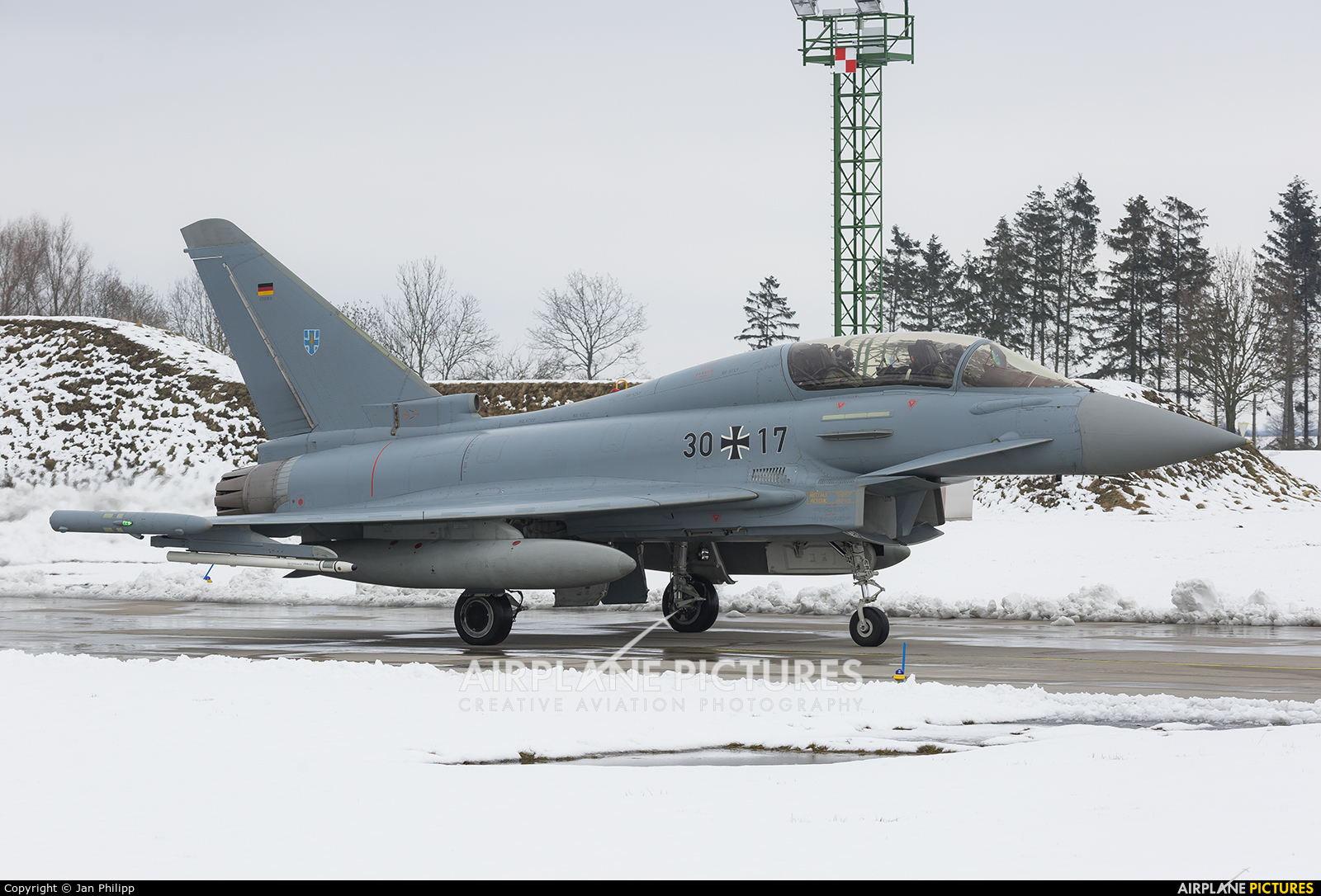 Germany - Air Force 30+17 aircraft at Rostock - Laage