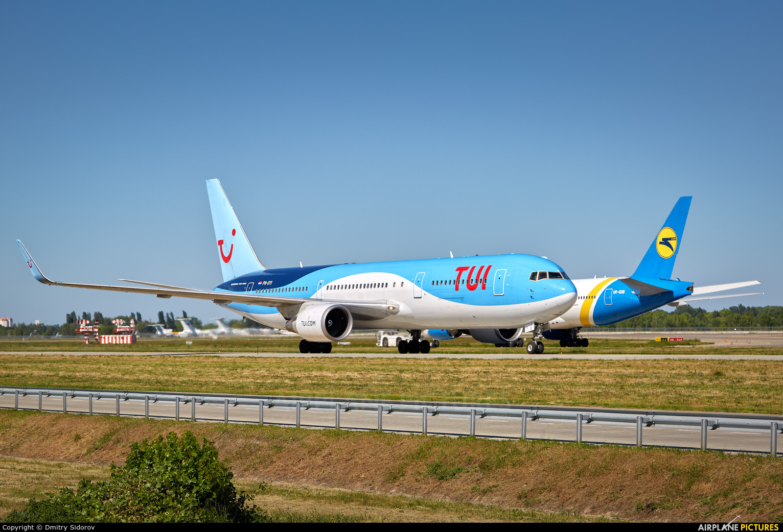 TUI Airlines Netherlands PH-OYI aircraft at Kyiv - Borispol