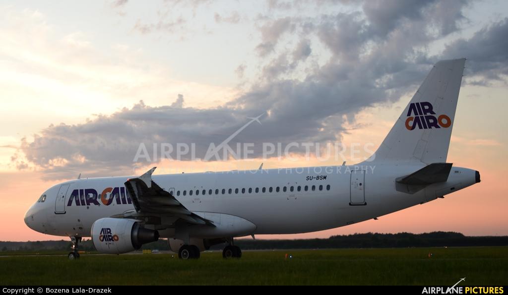 Air Cairo SU-BSM aircraft at Katowice - Pyrzowice