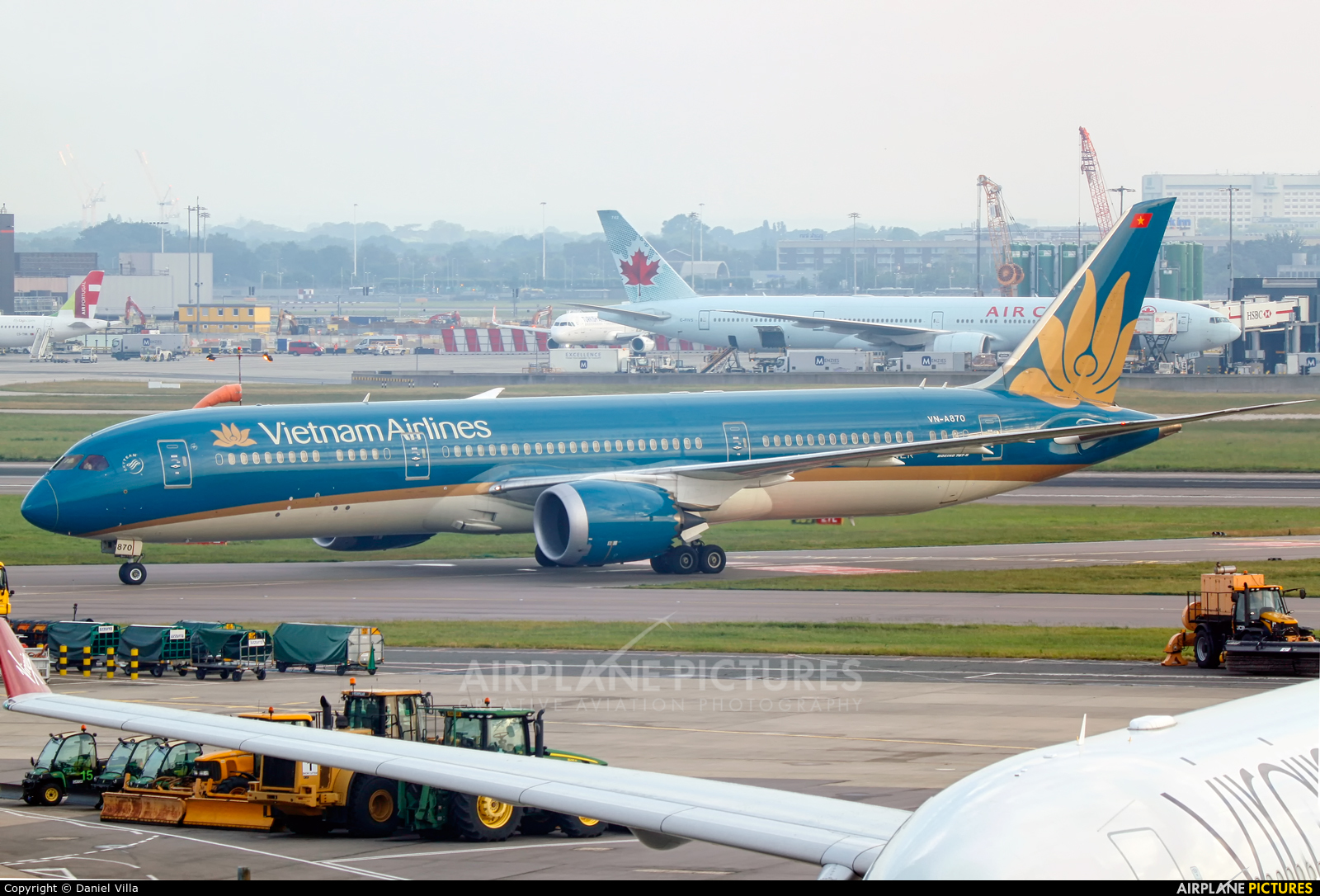 Vietnam Airlines VN-A870 aircraft at London - Heathrow