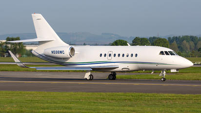 N598WC - Private Dassault Falcon 2000