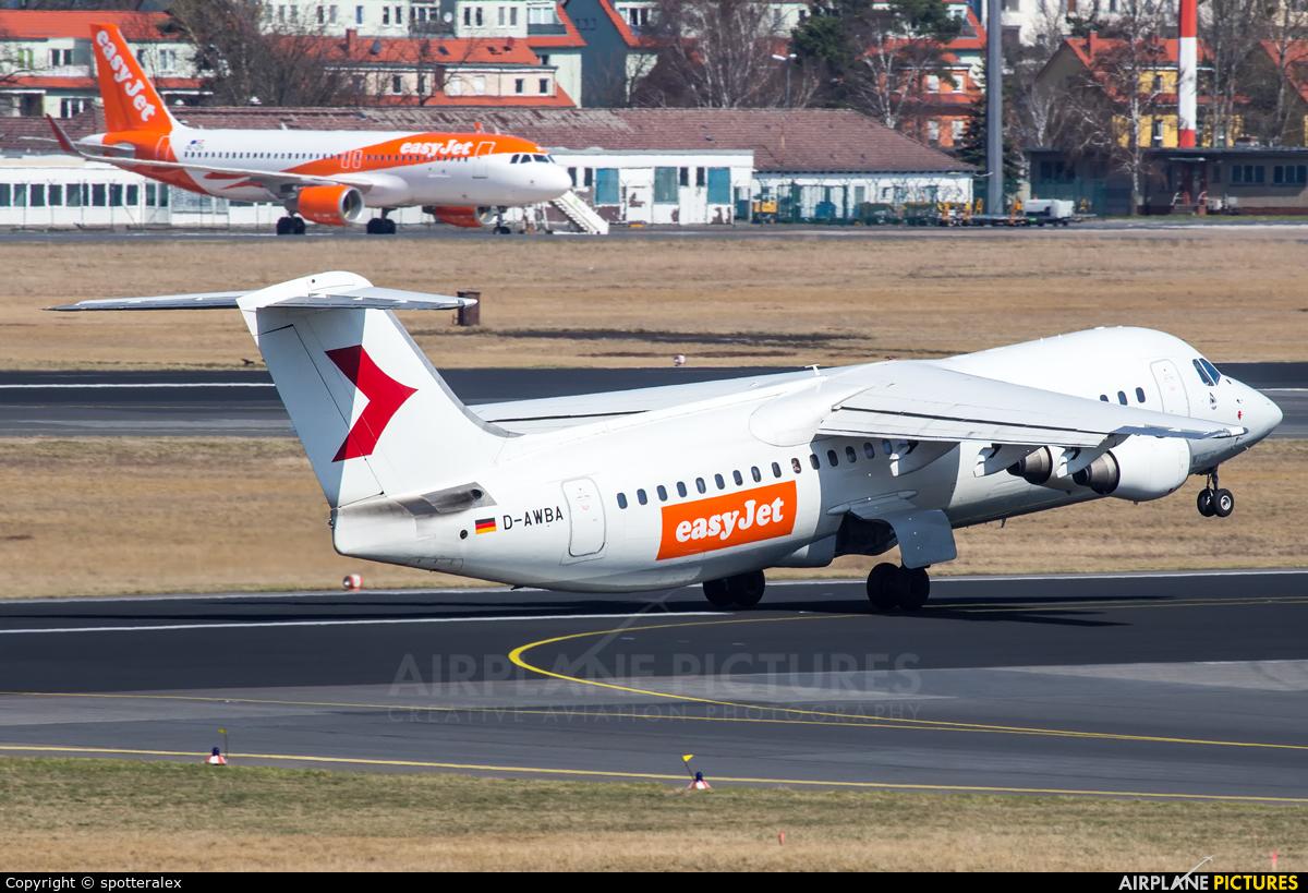 easyJet D-AWBA aircraft at Berlin - Tegel