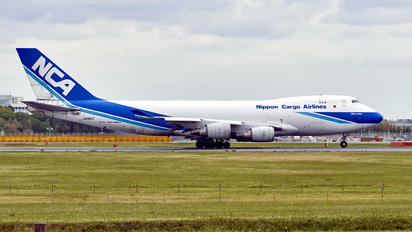 JA08KZ - Nippon Cargo Airlines Boeing 747-400F, ERF