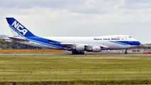 JA08KZ - Nippon Cargo Airlines Boeing 747-400F, ERF aircraft