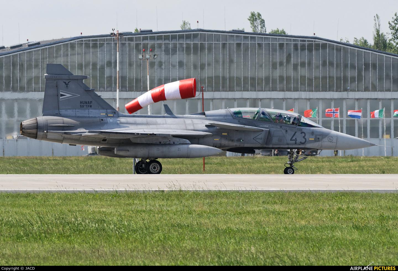 Hungary - Air Force 43 aircraft at Poznań - Krzesiny