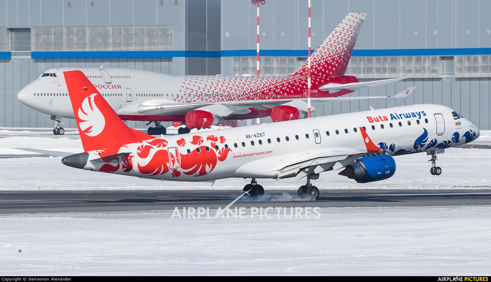 Buta Airways 4K-AZ67 aircraft at Moscow - Vnukovo