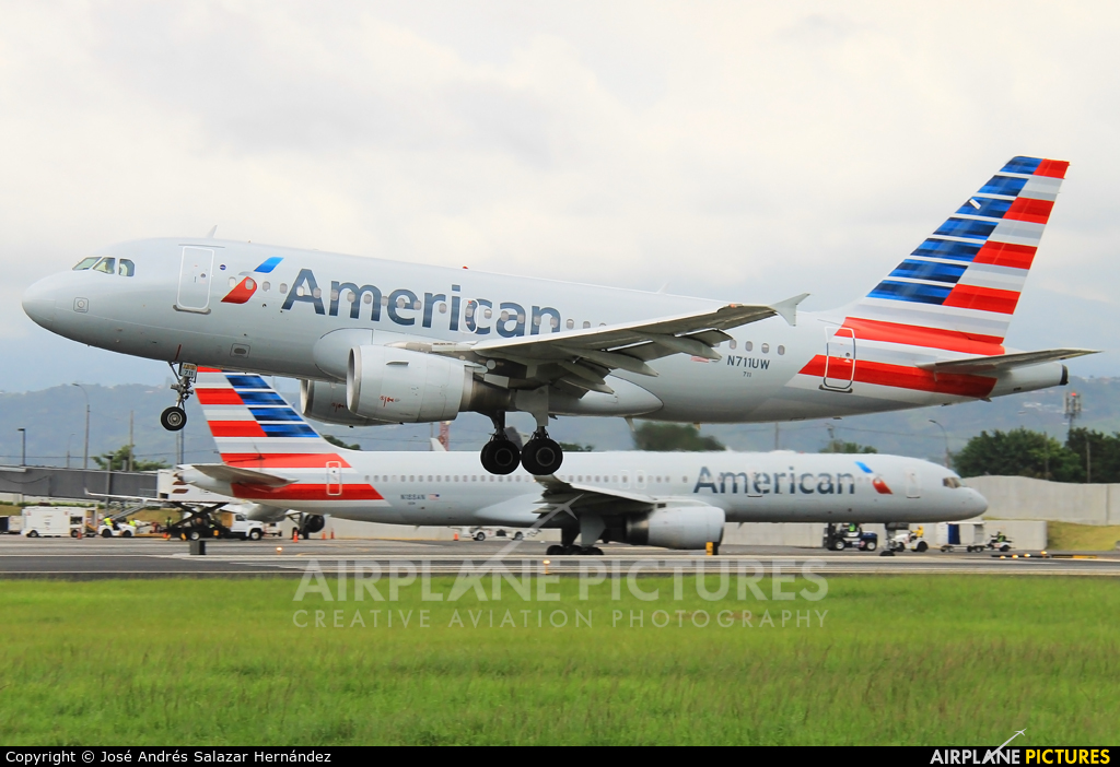 American Airlines N711UW aircraft at San Jose - Juan Santamaría Intl