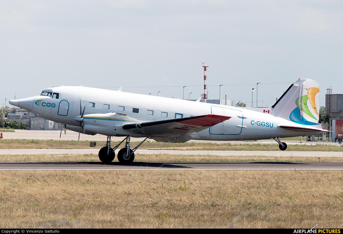 CGG Aviation C-GGSU aircraft at Bari