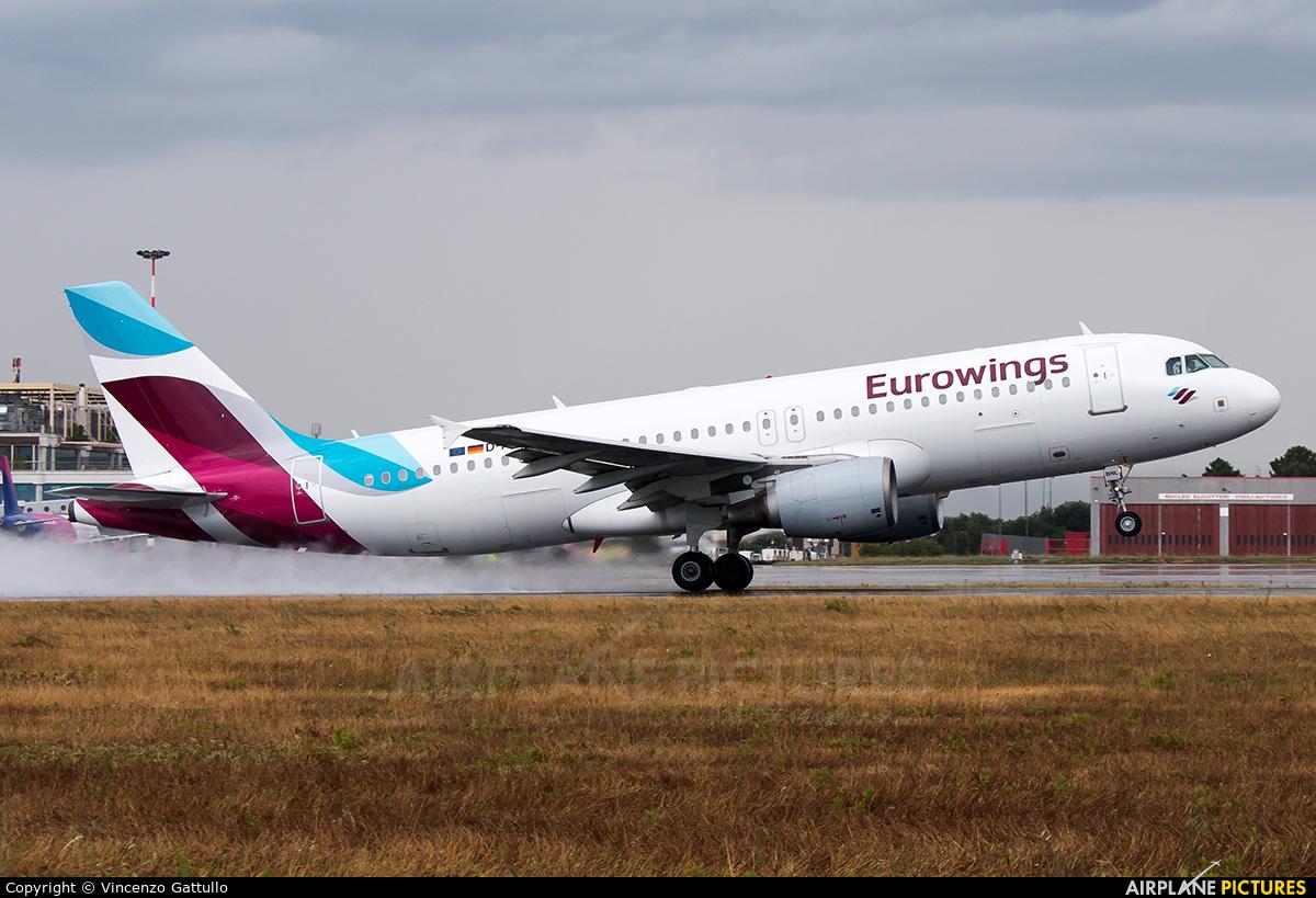 Eurowings D-ABNL aircraft at Bari