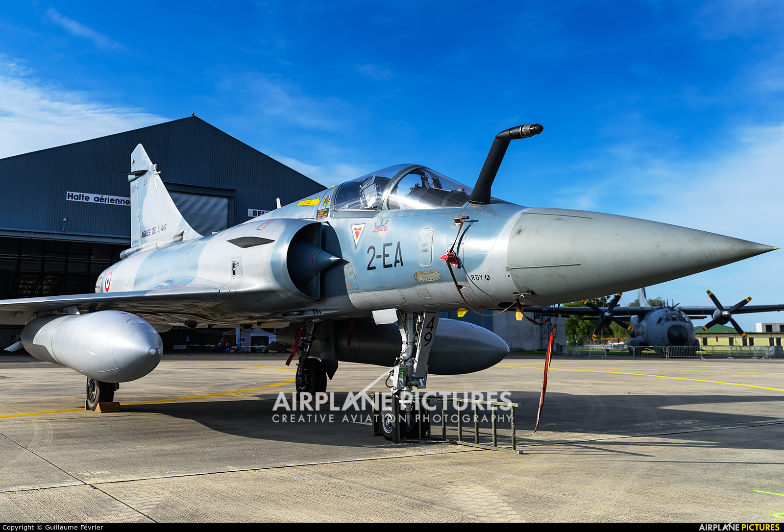France - Air Force 2-EA aircraft at Evreux Fauville