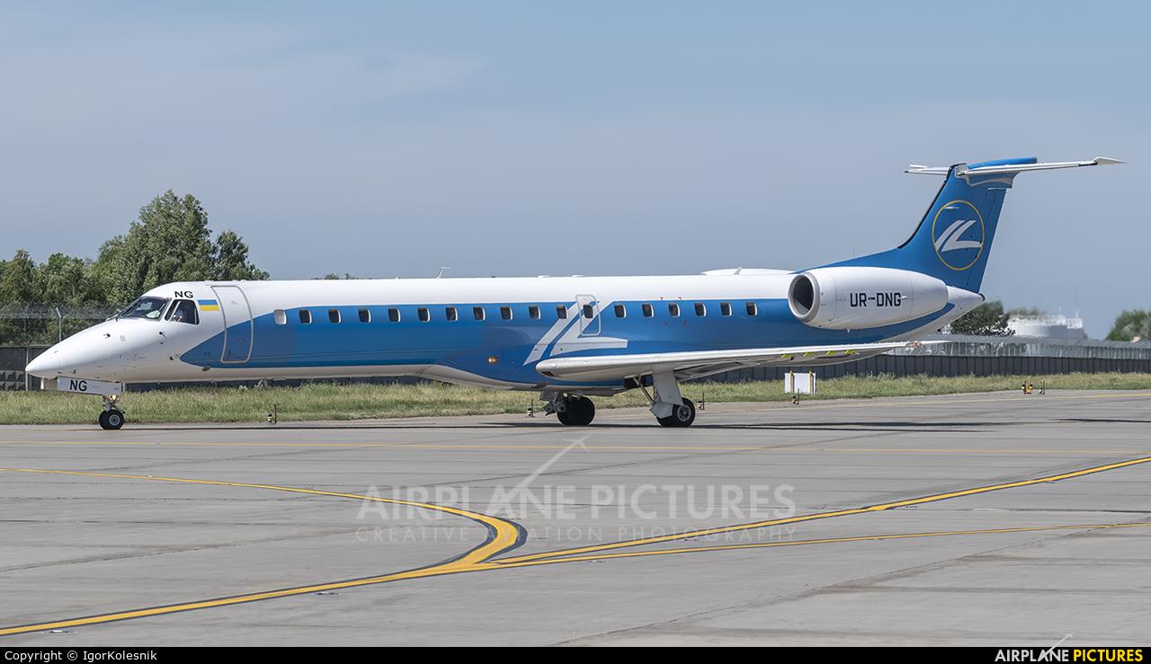 Dniproavia UR-DNG aircraft at Kyiv - Borispol