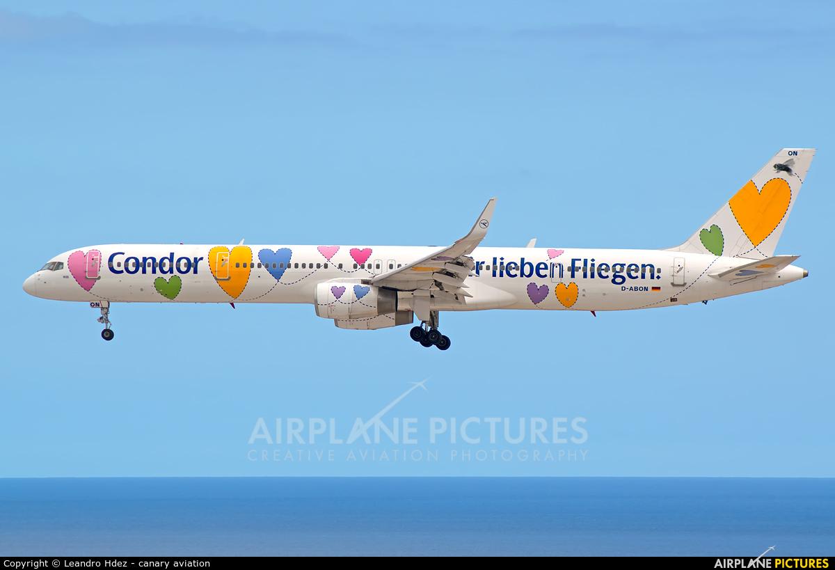 Condor D-ABON aircraft at Tenerife Sur - Reina Sofia