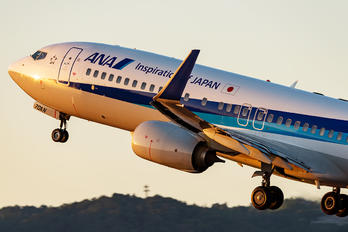 JA70AN - ANA - All Nippon Airways Boeing 737-800