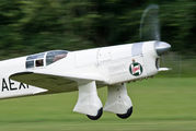 G-AEXF - The Shuttleworth Collection Percival P.6 Mew Gull aircraft