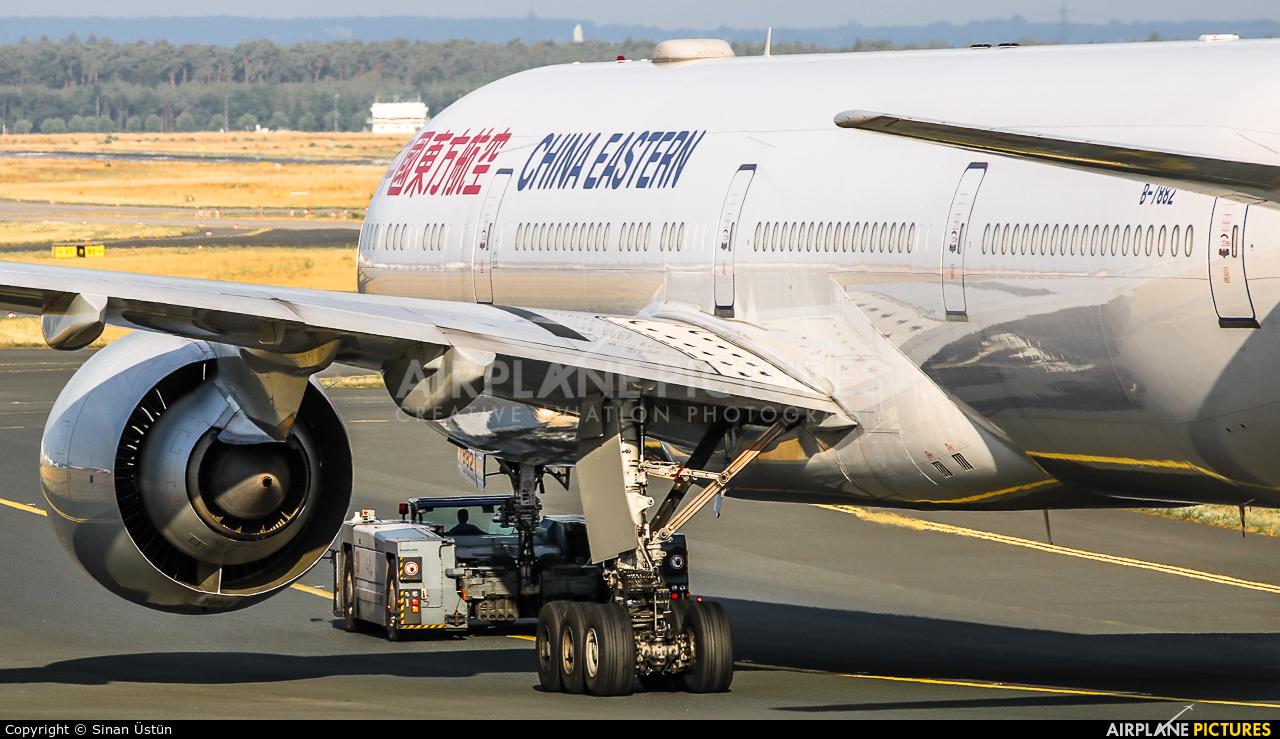 China Eastern Airlines B-7882 aircraft at Frankfurt