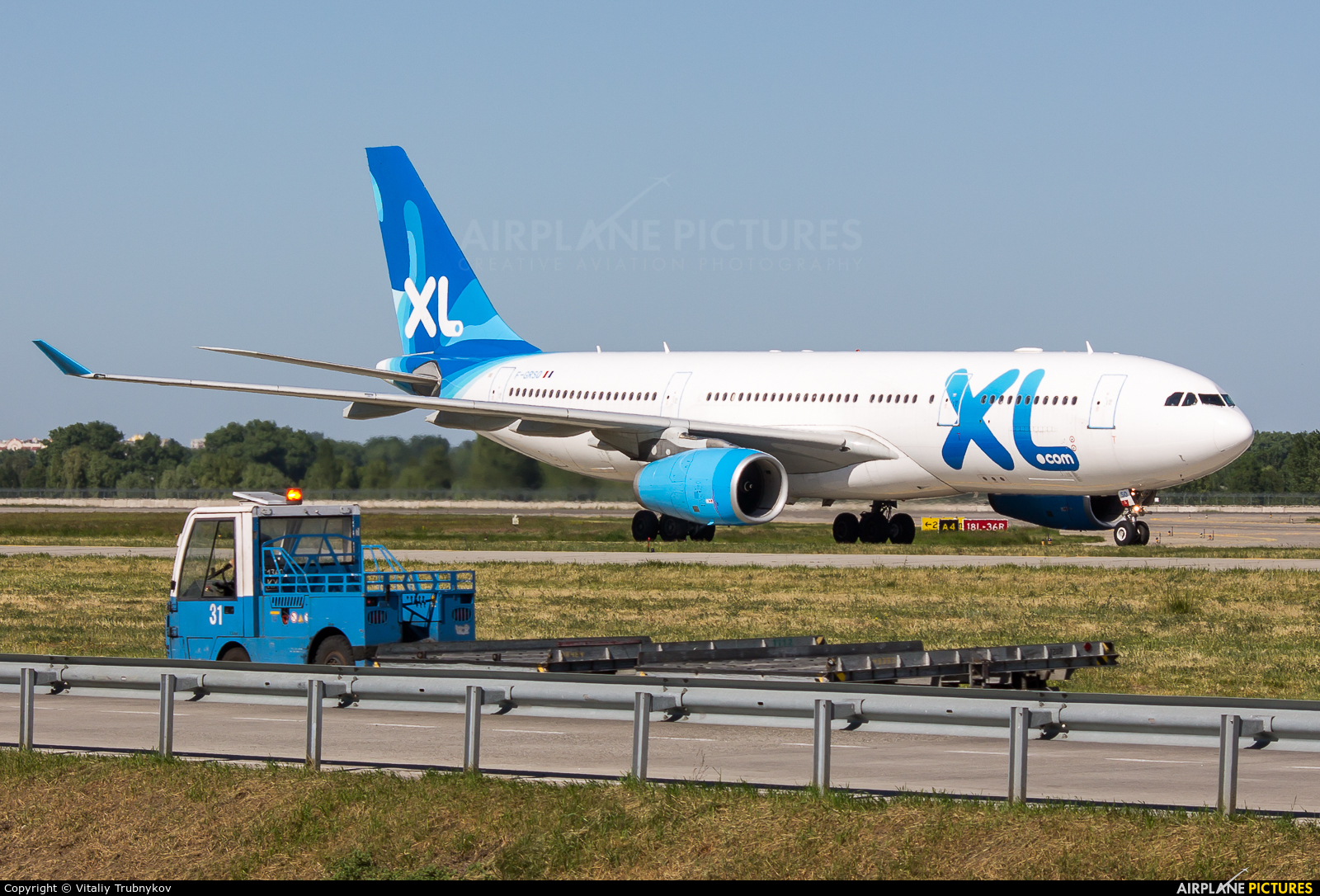 XL Airways France F-GRSQ aircraft at Kiev - Borispol