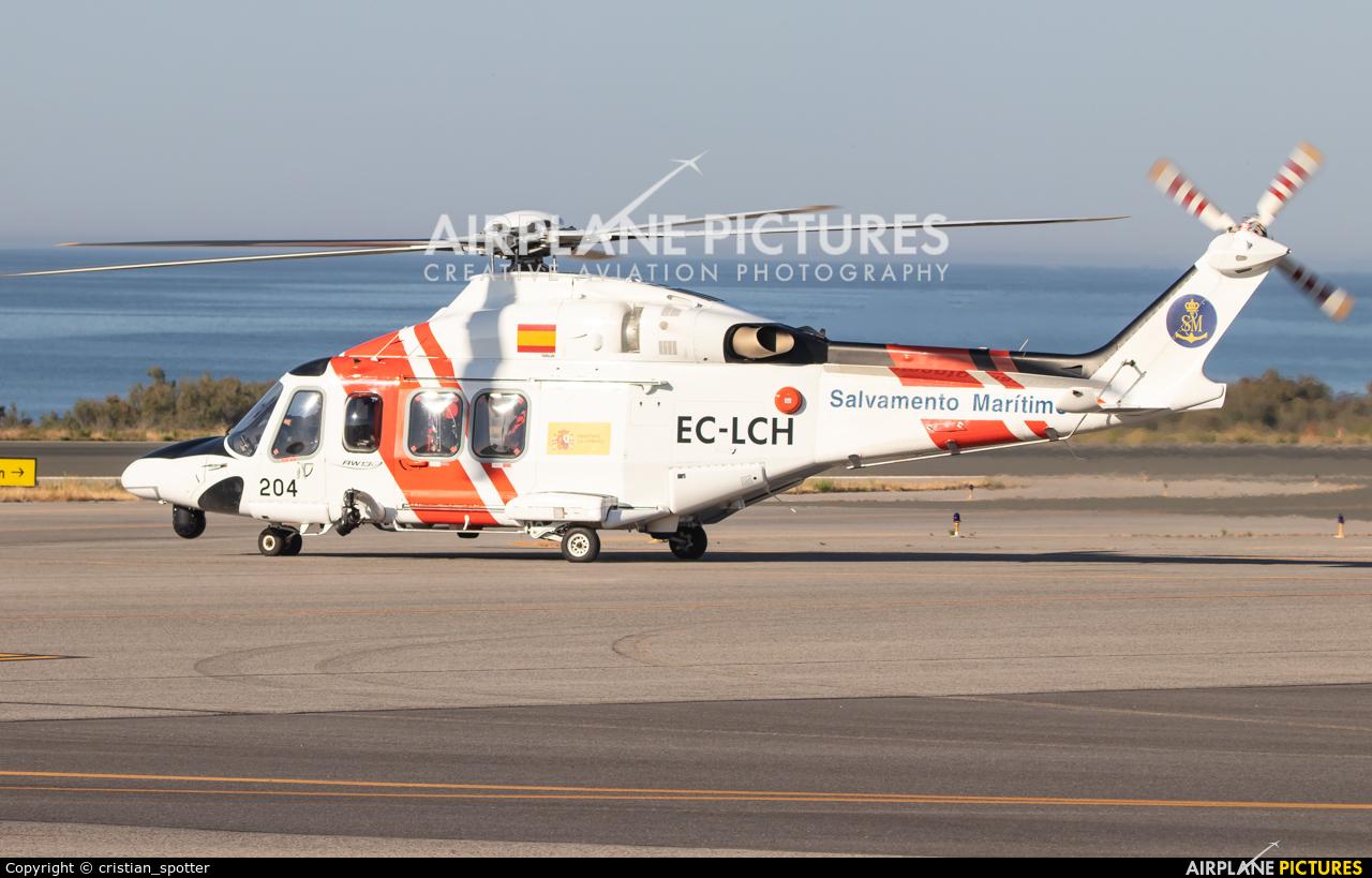 Spain - Coast Guard EC-LCH aircraft at Almería