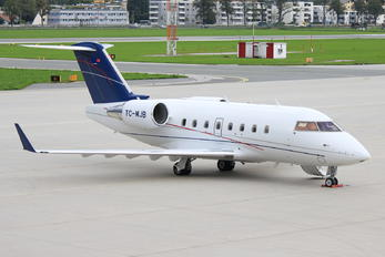 TC-MJB - Private Bombardier CL-600-2B16 Challenger 604