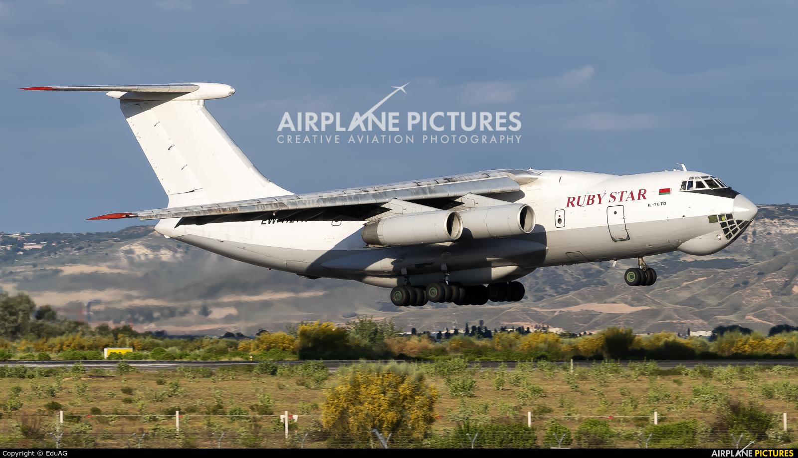 Ruby Star Air Enterprise EW-412TH aircraft at Madrid - Torrejon