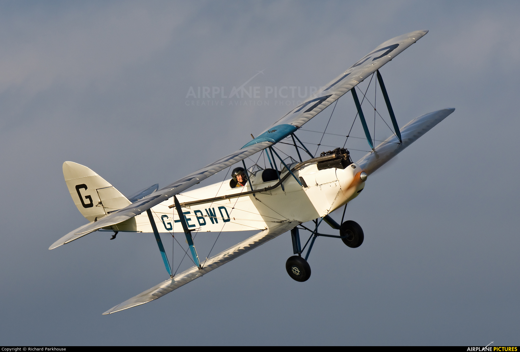 The Shuttleworth Collection G-EBWD aircraft at Old Warden