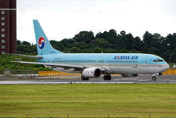 HL7704 - Korean Air Boeing 737-900