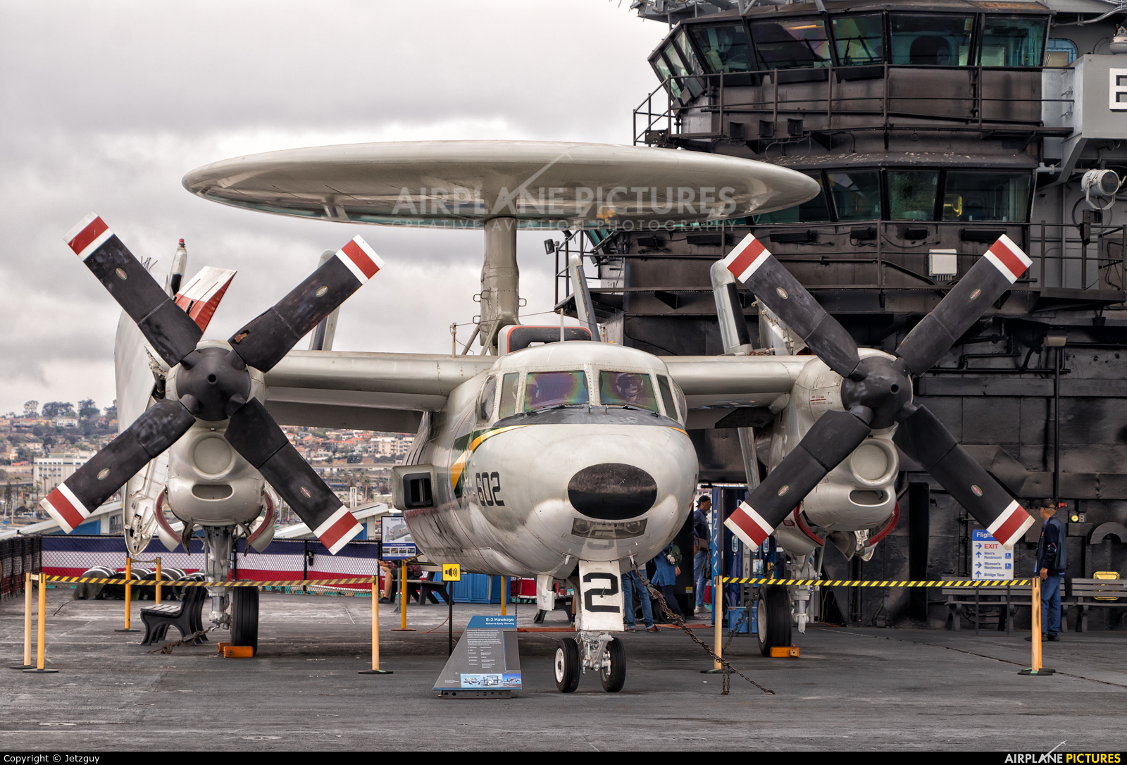 USA - Navy 161227 aircraft at San Diego - USS Midway Museum