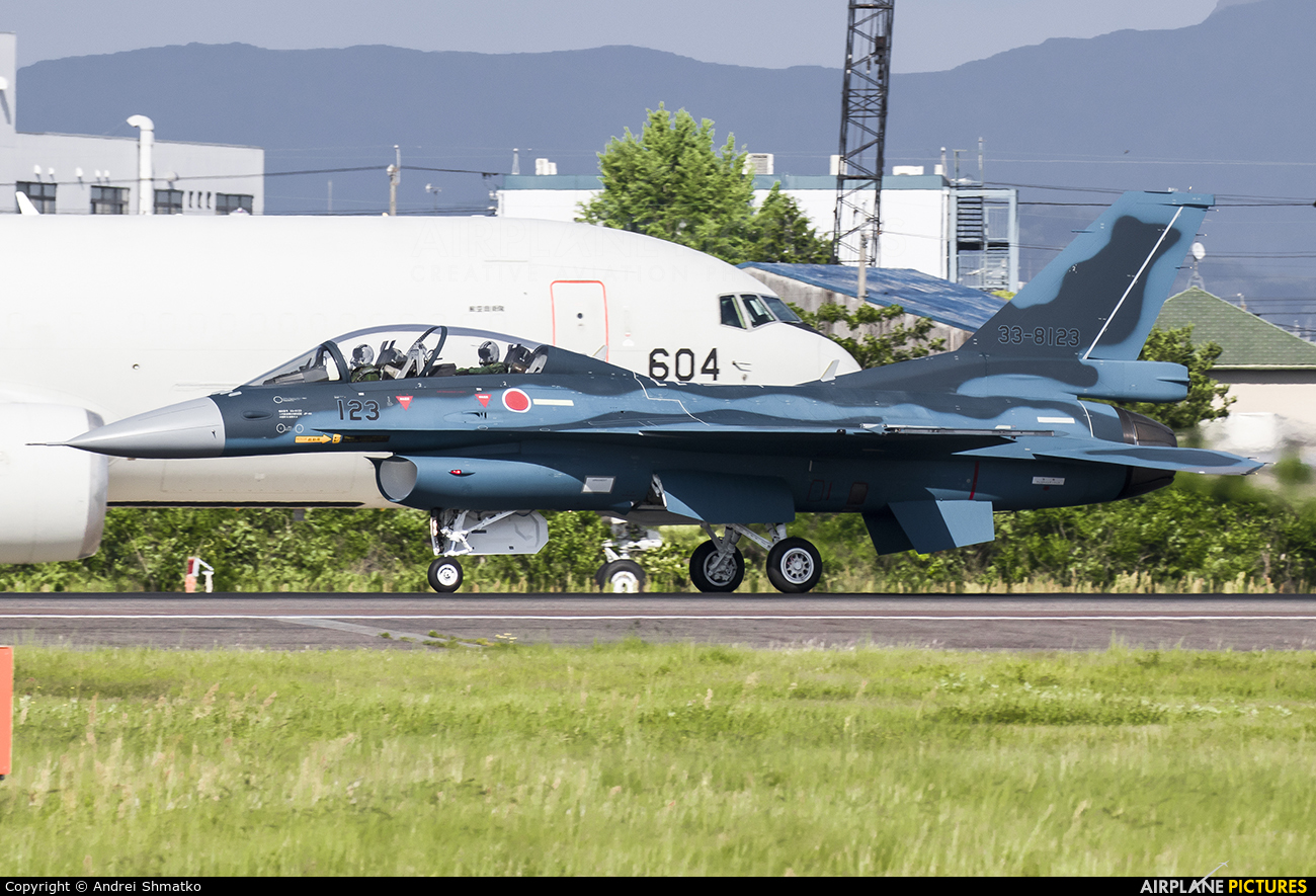 Japan - Air Self Defence Force 33-8123 aircraft at Nagoya - Komaki AB