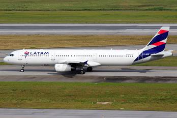 PT-MXE - LATAM Airbus A321