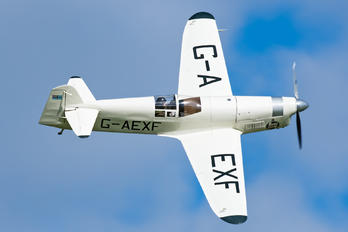 G-AEXF - The Shuttleworth Collection Percival P.6 Mew Gull