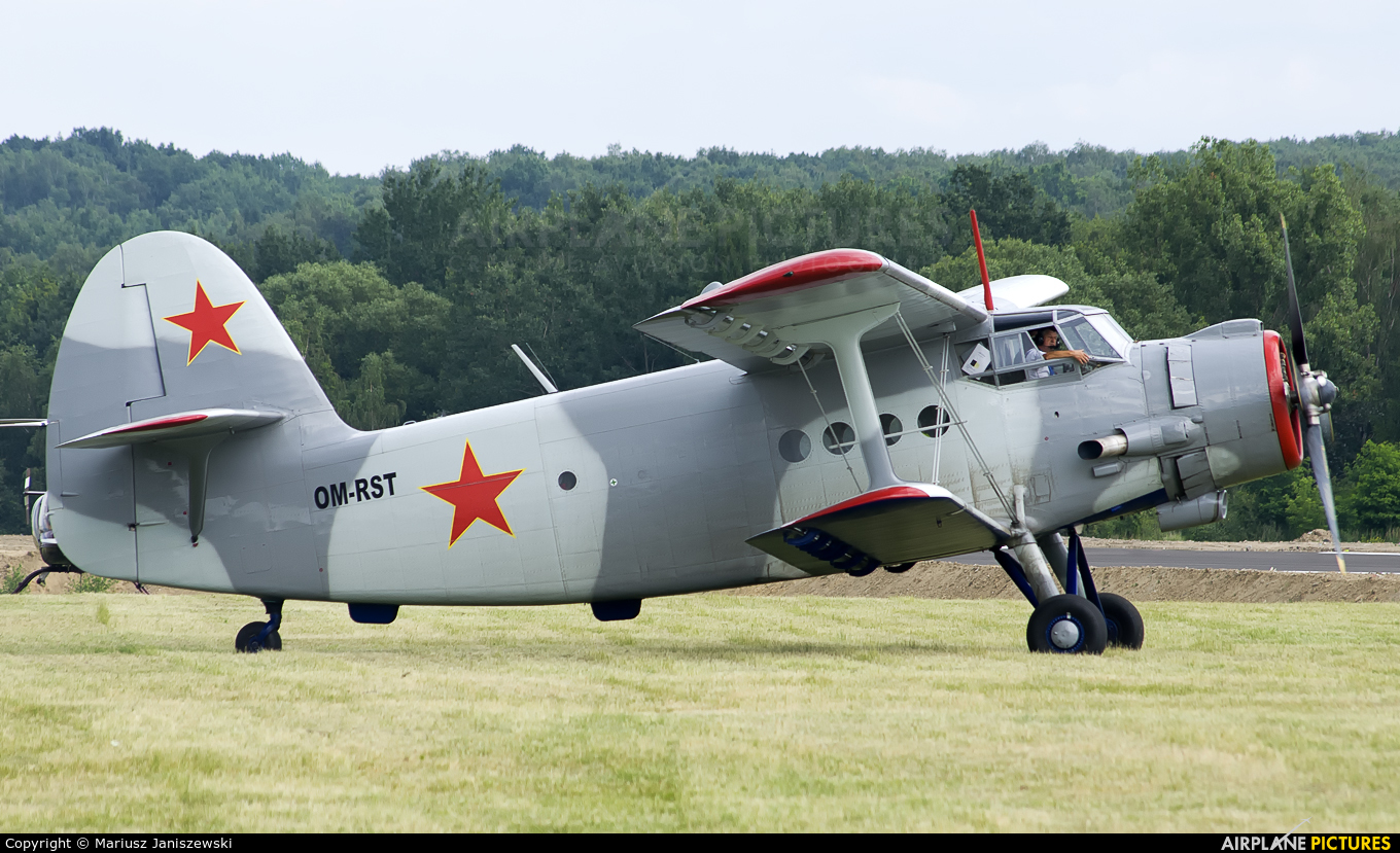 Private OM-RST aircraft at Katowice Muchowiec