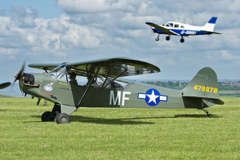 G-BEUI - Private Piper J3 Cub